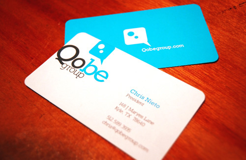 Some Nice Looking Custom Business Cards